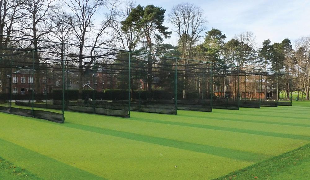 Cricket pitches S&C Slatter