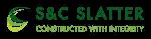 S&C Slatter Logo - Sports construction specialists